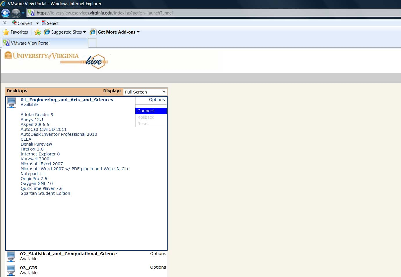 Virtualizing Specialized Software | EDUCAUSE