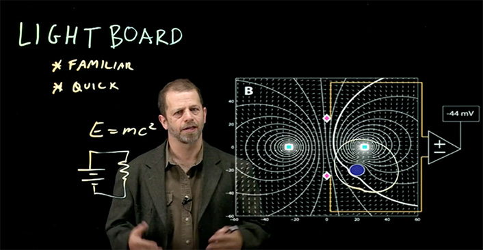 Reframing Learning with Learning Glass and Lightboard | EDUCAUSE