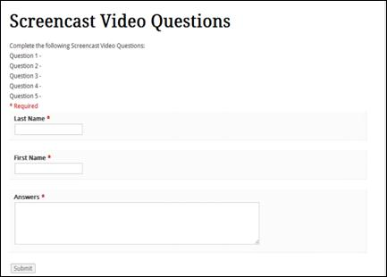 Screencasting to Engage Learning | EDUCAUSE
