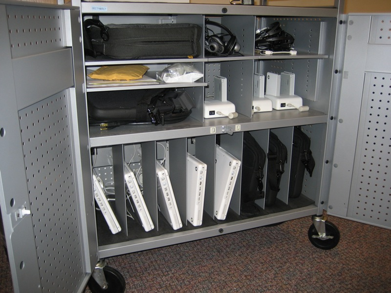 26. Laptop cart