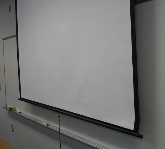 49. Whiteboard and screen