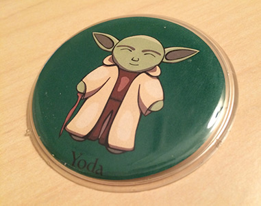 Yoda Desk Paperweight