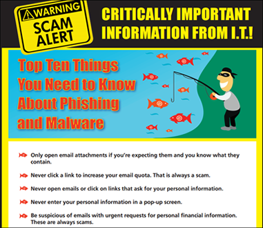Figure 3 - Educational phishing poster