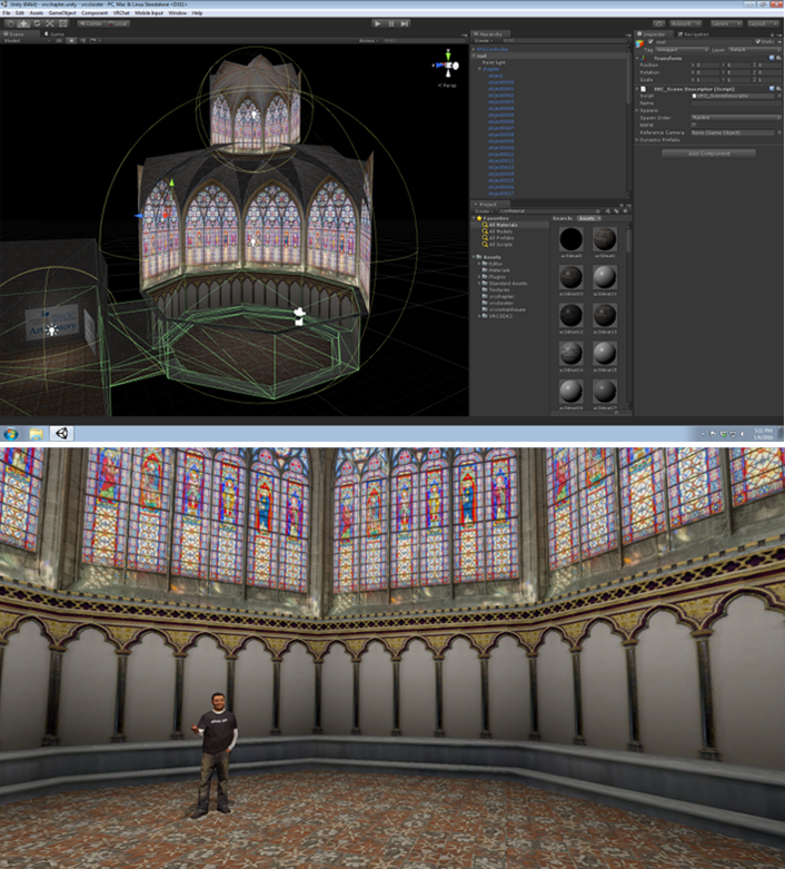 Image 5 - Virtual gothic chapter house