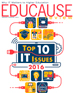 EDUCAUSE Review Cover - January/February 2016