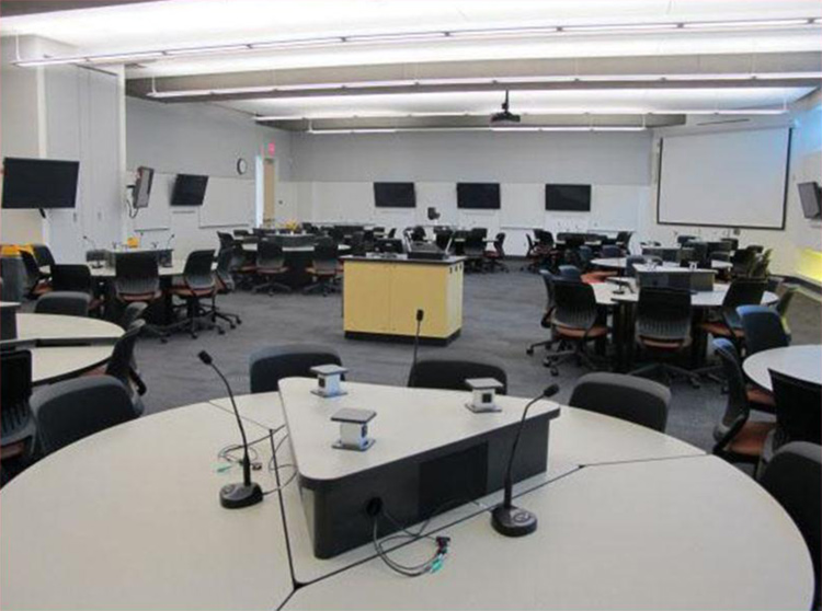Pedagogy and Space: Empirical Research on New Learning Environments