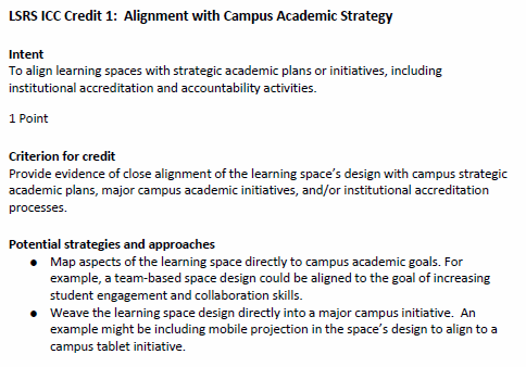 Seven Principles for Classroom Design: The Learning Space Rating System