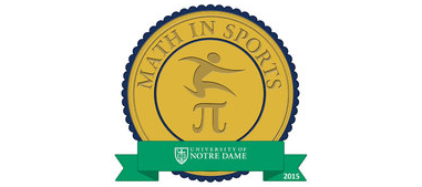 Figure 2. Math in Sports digital badge; click on the badge image to see the metadata