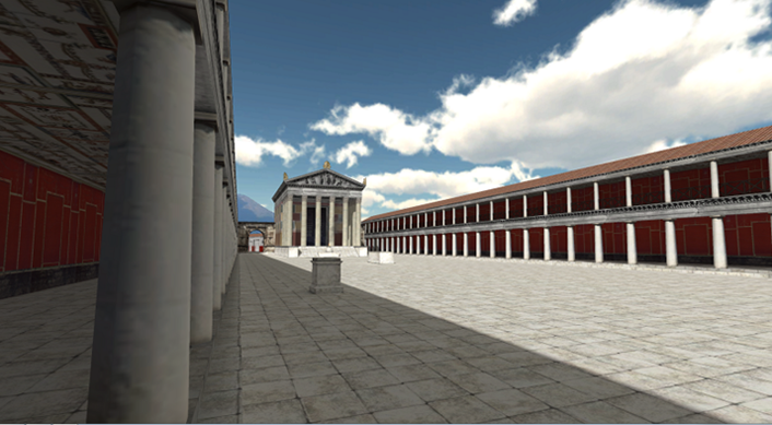 Image 6 - Virtual forum of Pompeii