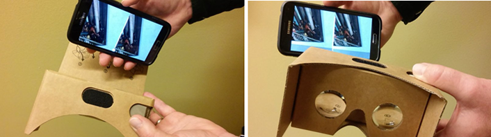 Image 7 - Testing a virtual museum exhibit with Google Cardboard