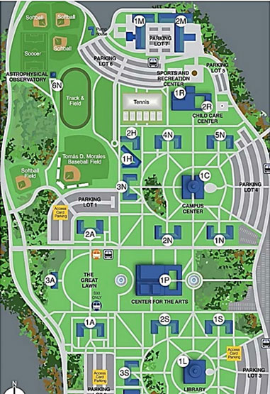 College Of Staten Island Campus Map College Of Staten Island Campus Map | Time Zone Map