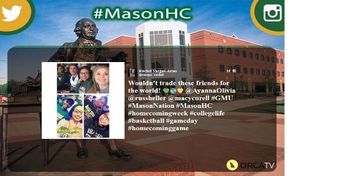 Figure 6. Mason homecoming campaign