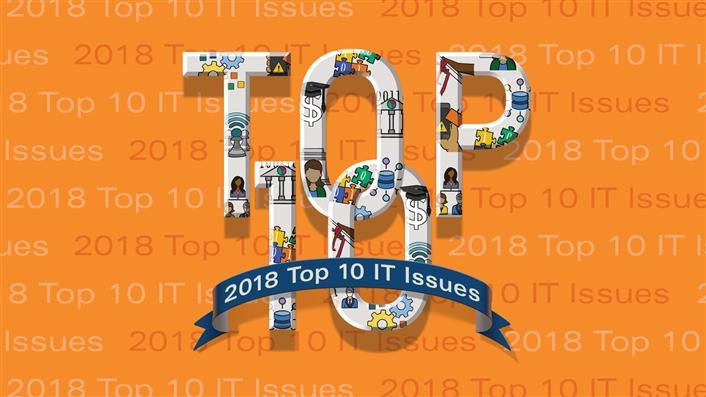 Top 10 IT Issues 2018 The Remaking Of Higher Education