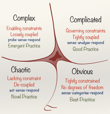 Assessing complexity graphic