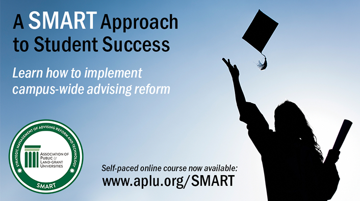 graphic promoting SMART advising reform