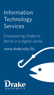 image of Drake University Information Technology Services poster