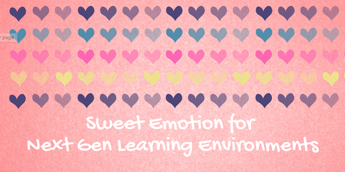 image of rows of colored hearts on a pink background with blog title overlaid on it
