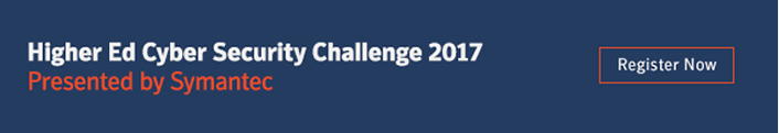 Higher Ed Cyber Security Challenge 2017, Presented by Symantec | Register Now